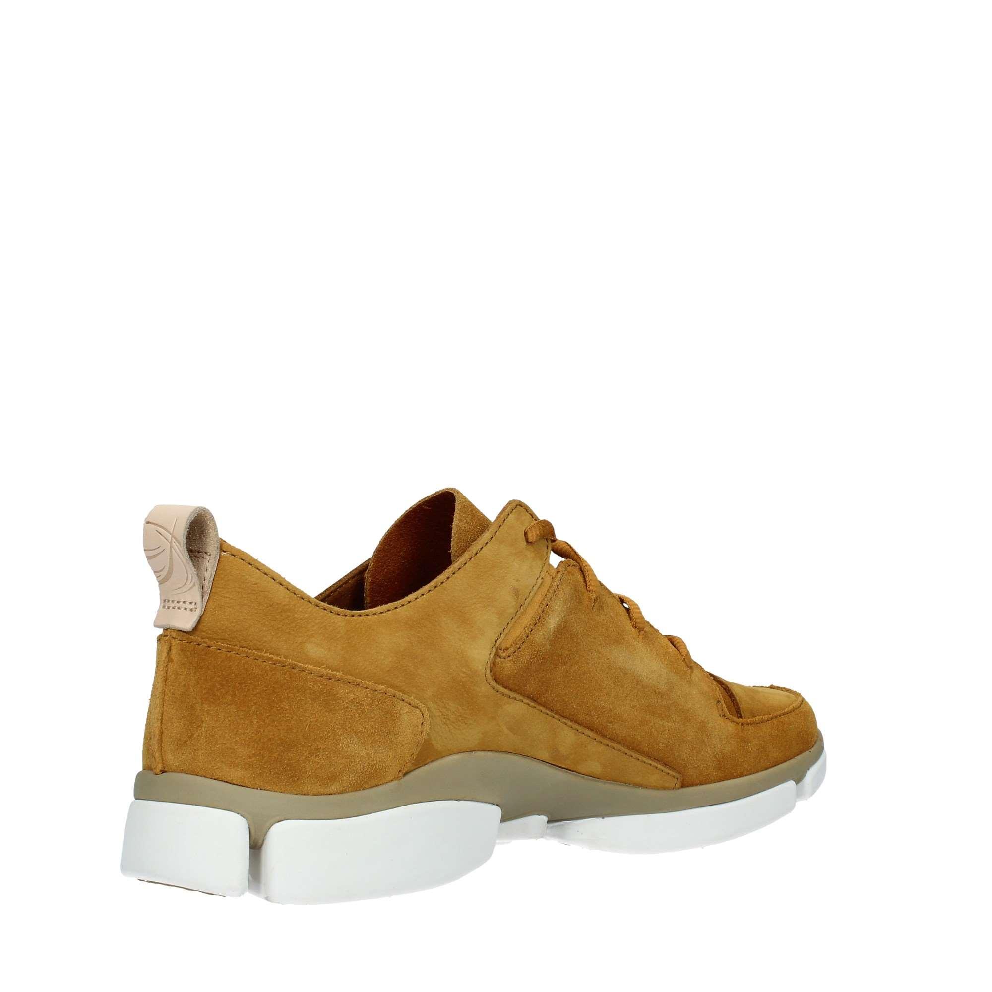 Dettagli su Clarks Uomo TRI VERVE LACE OCRA Sneakers PrimaveraEstate