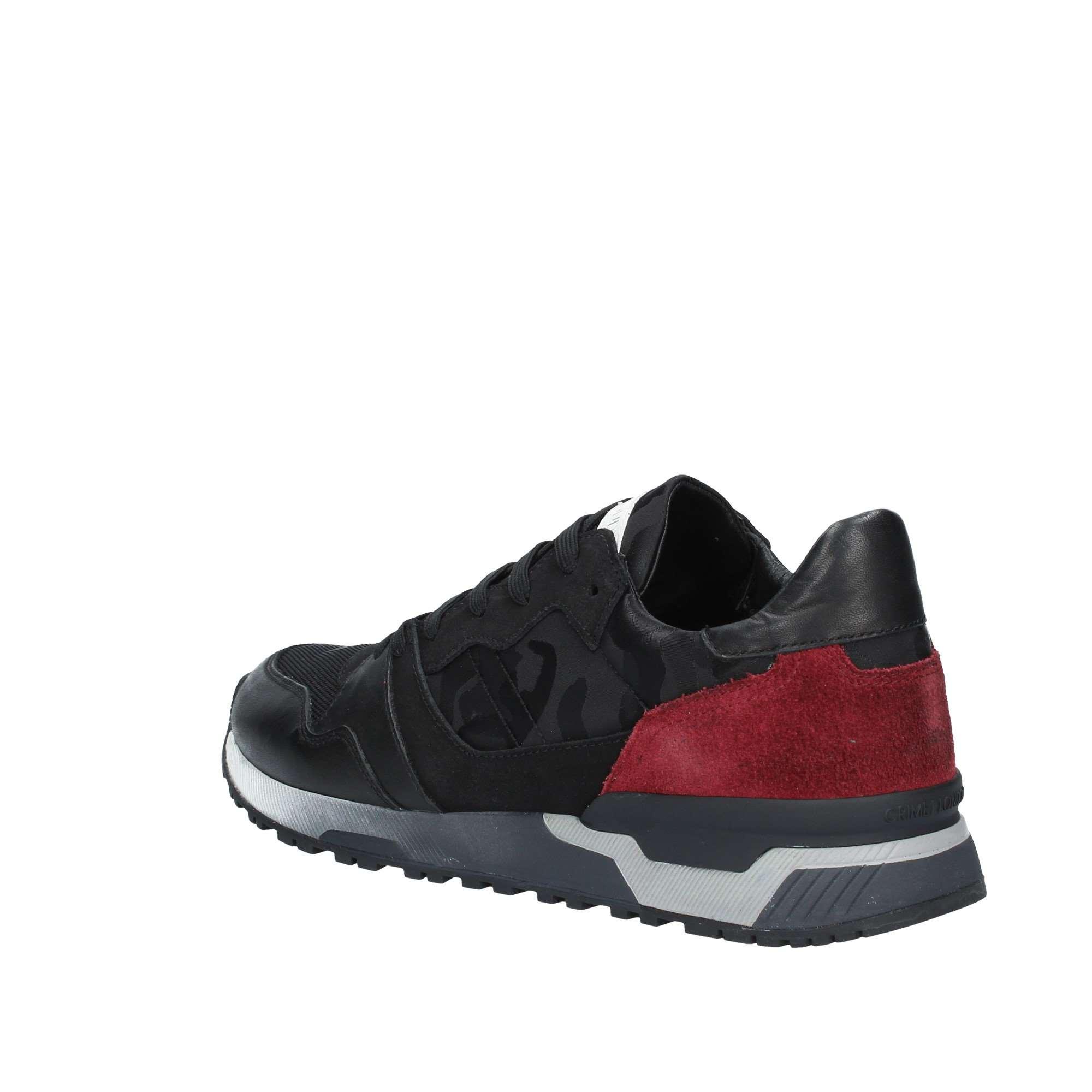 Crime london 11803AA1 NERO Sneakers Uomo Autunno Inverno  cfad75df2aa