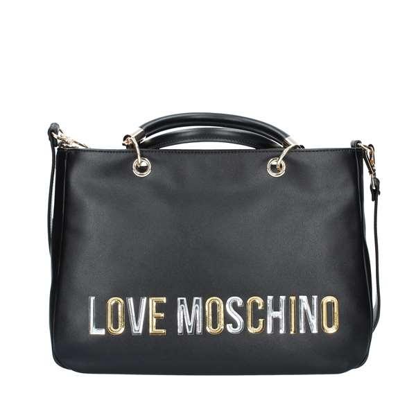 190d7f5bf9 BORSE Love Moschino Donna - NERO - Vendita BORSE On line su ...