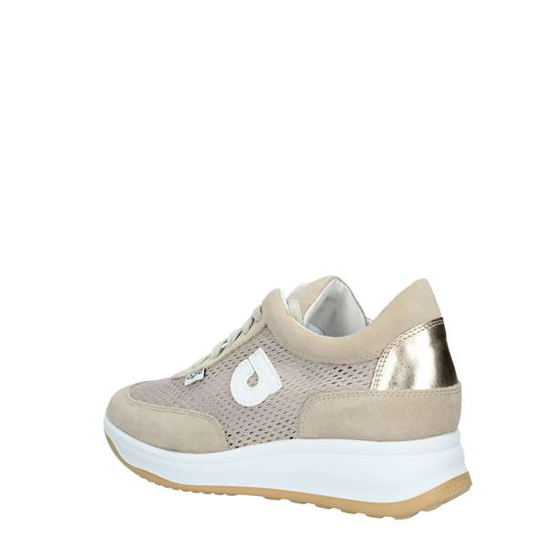 AGILE by Rucoline Sneakers Donna GOLD