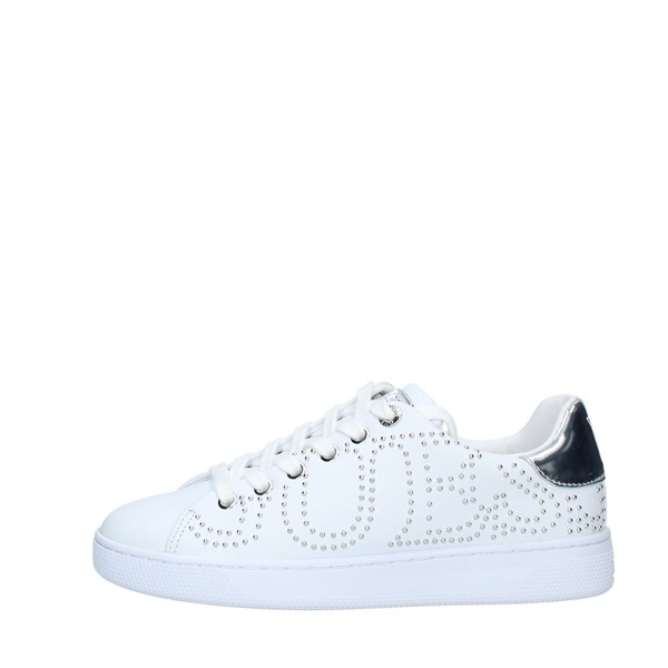 Guess SNEAKERS  Donna WHITE SILVER