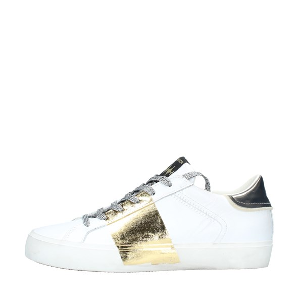 Crime london Sneakers Donna BIANCO ARGENTO