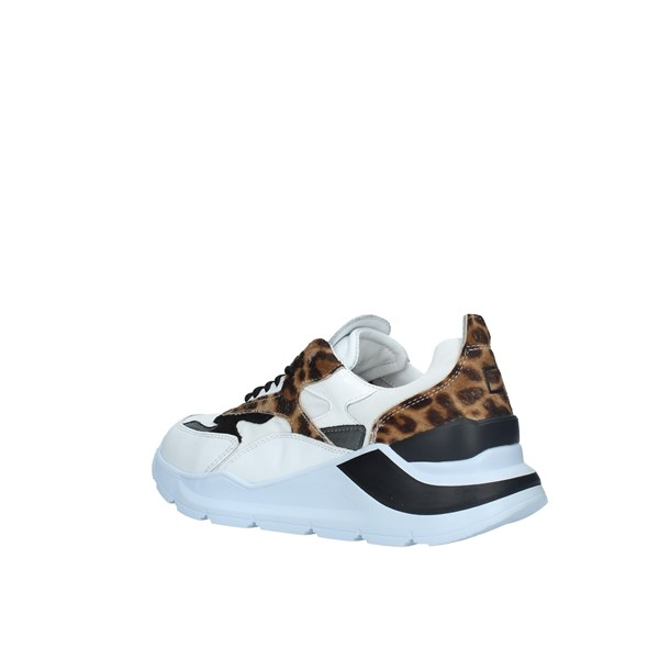 D.A.T.E. SNEAKERS  Donna WHITE BLACK