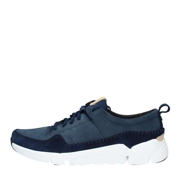 Clarks Scarpe Uomo Sneakers NAVY TRIACTIVE RUN
