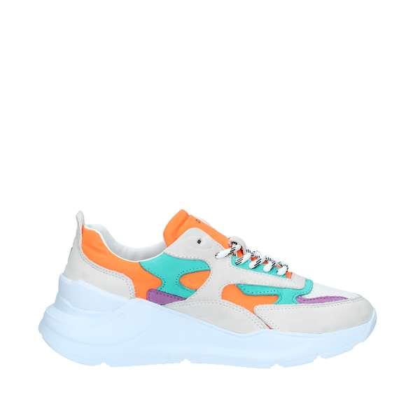 online store d0e0e 0e9c0 D.A.T.E. Sneakers Donna ORANGE | Revolution Store