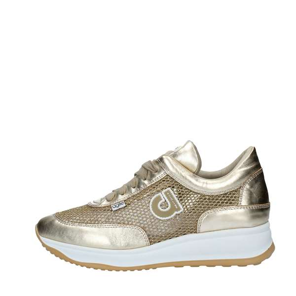 AGILE by Rucoline Scarpe Donna Sneakers GOLD 1304