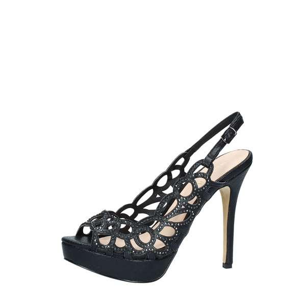 new style 483b0 ae70c Menbur SANDALO Donna NERO | Revolution Store