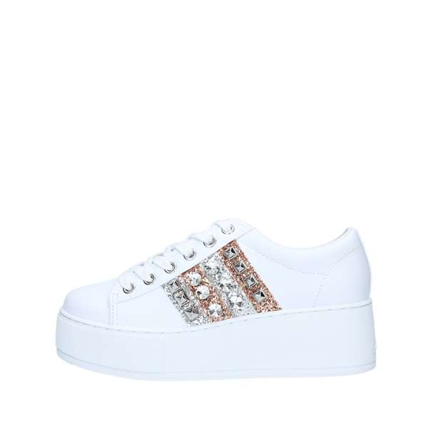 Guess Scarpe Donna Sneakers WHITE FL7NEOELE12