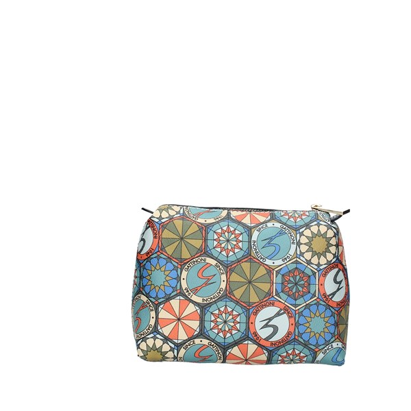 Gattinoni roma Accessori Donna POCHETTE MULTICOLOR BENTD7643