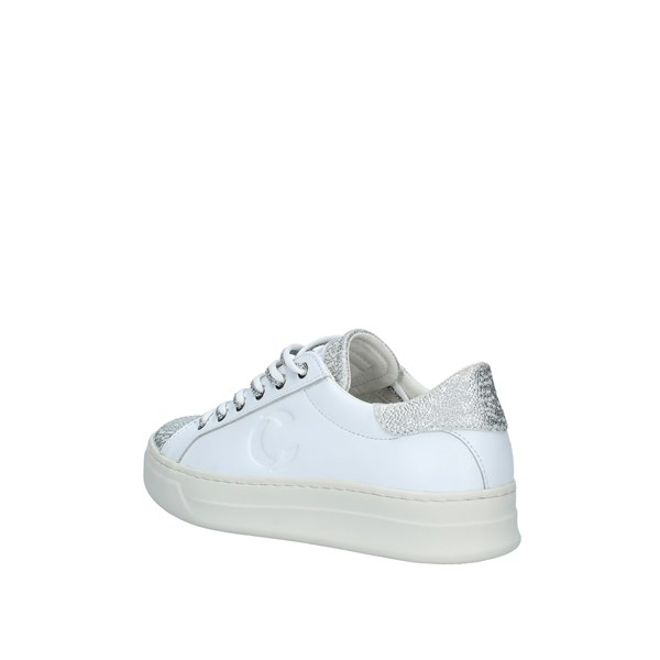 Crime london Scarpe Donna Sneakers BIANCO ARGENTO 25509PP210