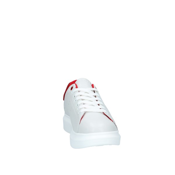 DOCKSTEPS Scarpe Uomo Sneakers WHITE RED DSE106468
