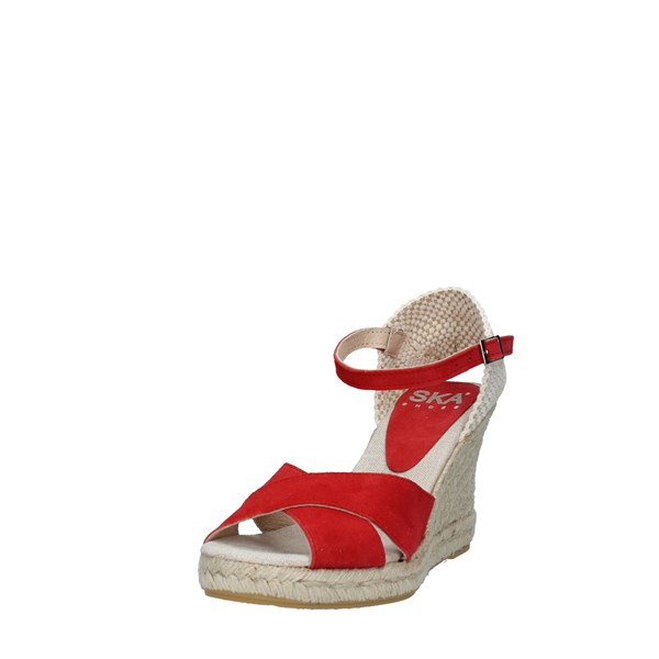 SKA Scarpe Donna SANDALO RED 201 BERRY