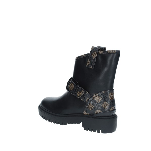 Guess Scarpe Donna ANKLEBOOT BLACK FL8ORC