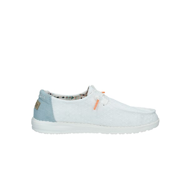 DUDE Scarpe Donna SNEAKERS BIANCO WENDY BOHO