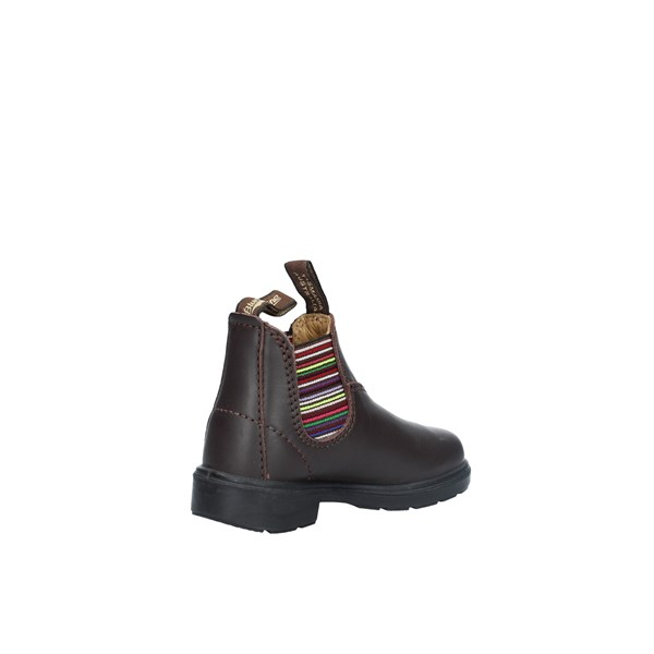 Blundstone Scarpe Bambino Beatles BROWN STRP BCCAL0296 1413
