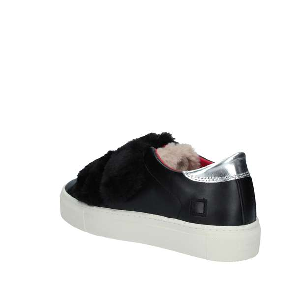 new styles 28c4f 5f976 D.A.T.E. Sneakers Donna BLACK   Revolution Store